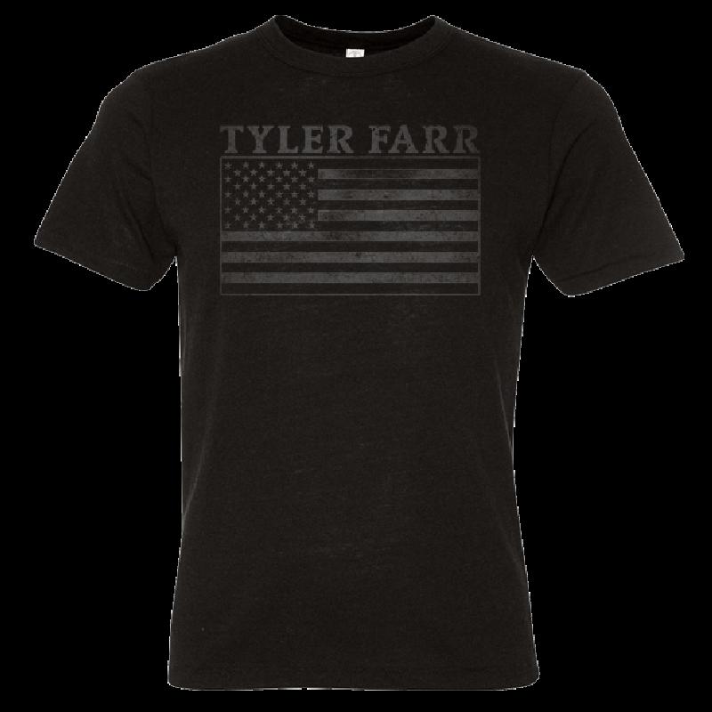Tyler Farr Black Flag Tee