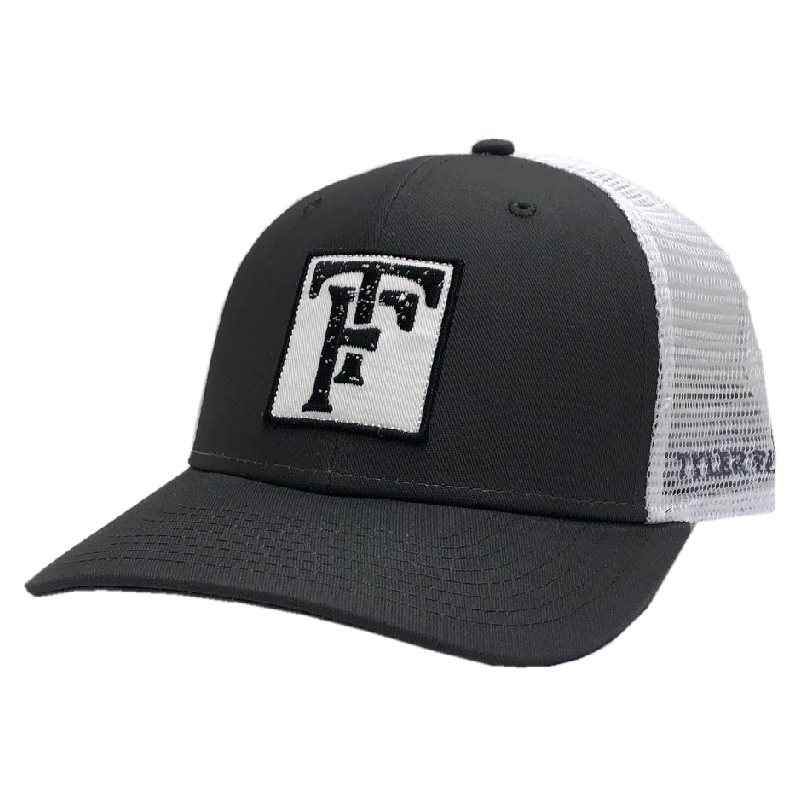 Tyler Farr Charcoal and White Ballcap